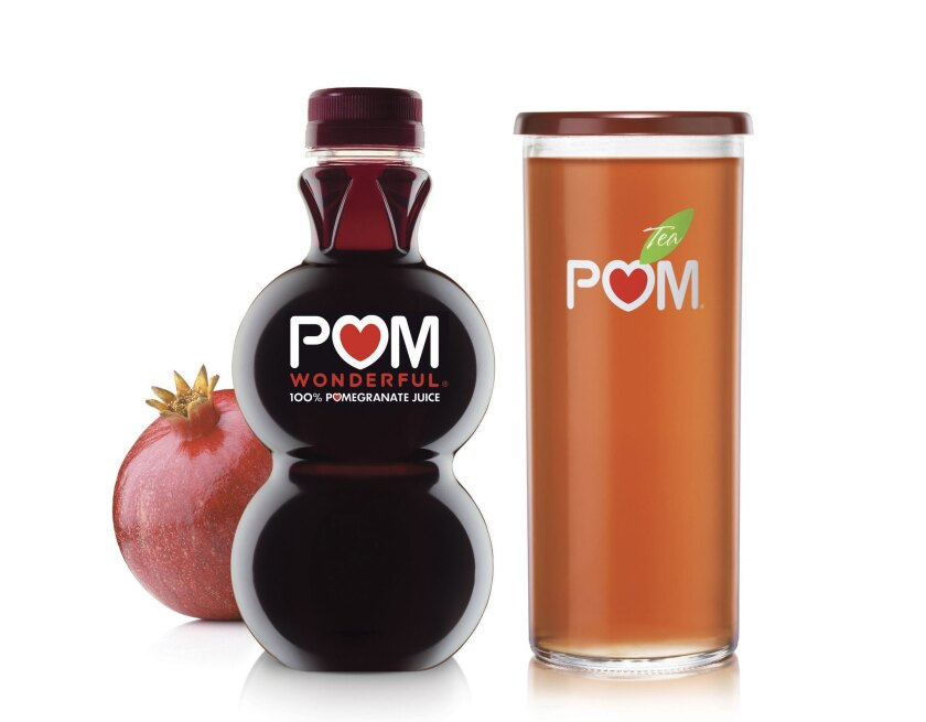 Products from Los Angeles-based Pom Wonderful.