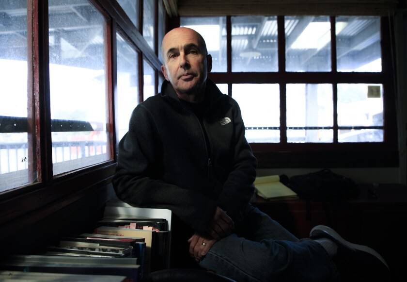 "JULIAN, CA., FEB 1, 2019: Thriller/crime novelist Don Winslow's new book, ""The Border"" comes out in"