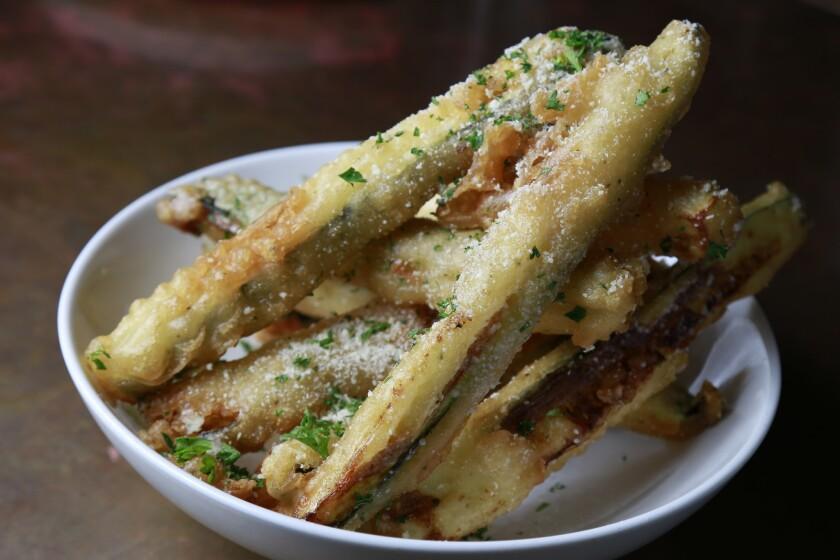 Zucchini Truffle Fries
