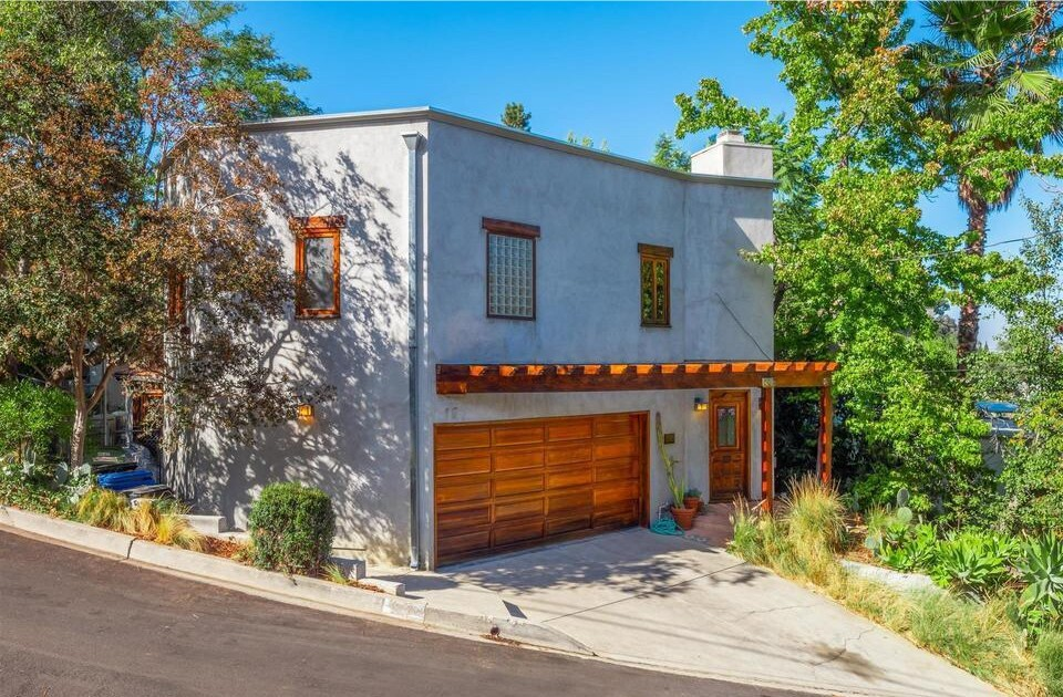 Michael Ironside's Hollywood Hills home