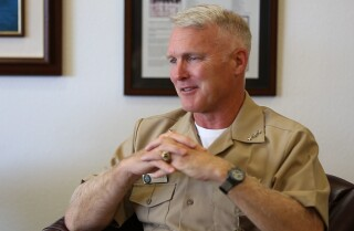 Navy Vice admiral requests early retirement