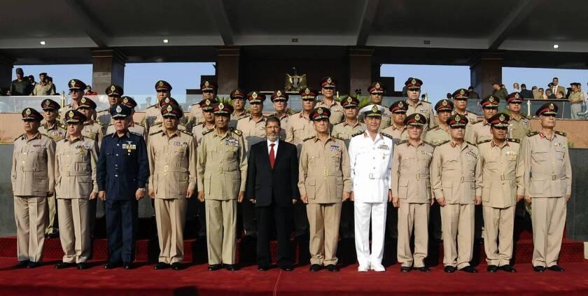 Mohamed Morsi sworn in as Egypt's first Islamist president