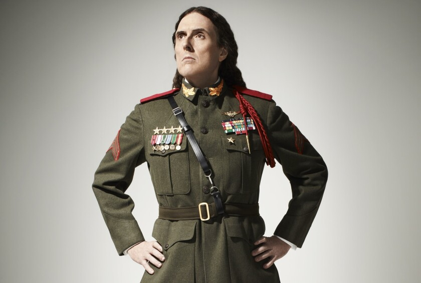 """Weird Al"" Yankovic's new album, ""Mandatory Fun,"" entered the Billboard 200 on Wednesday at No. 1."