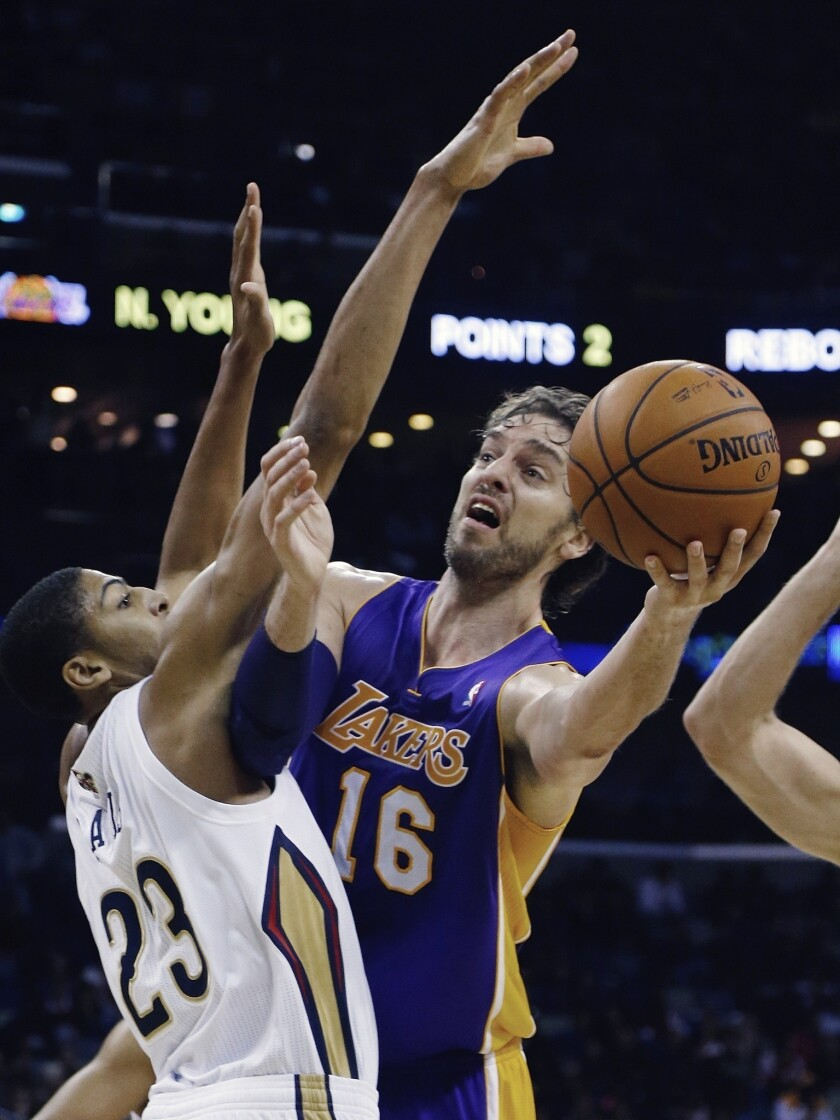 Up next for the Lakers: Tuesday vs. New Orleans
