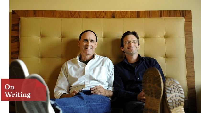 """""""Foxcatcher"""" screenwriters E. Max Frye and Dan Futterman"""