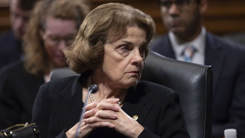 find a better reason than she s old to want dianne feinstein to retire los angeles times want dianne feinstein to retire