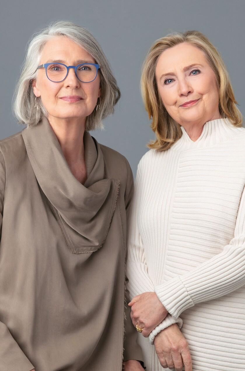 Two women in nice sweaters