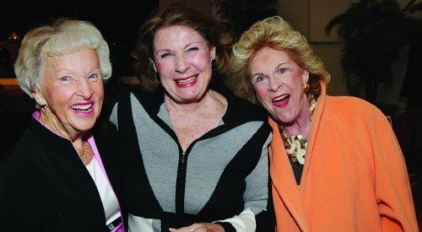 Betty Edman, Sally Jordan, Joan Sealy (Photo: Jon Clark)