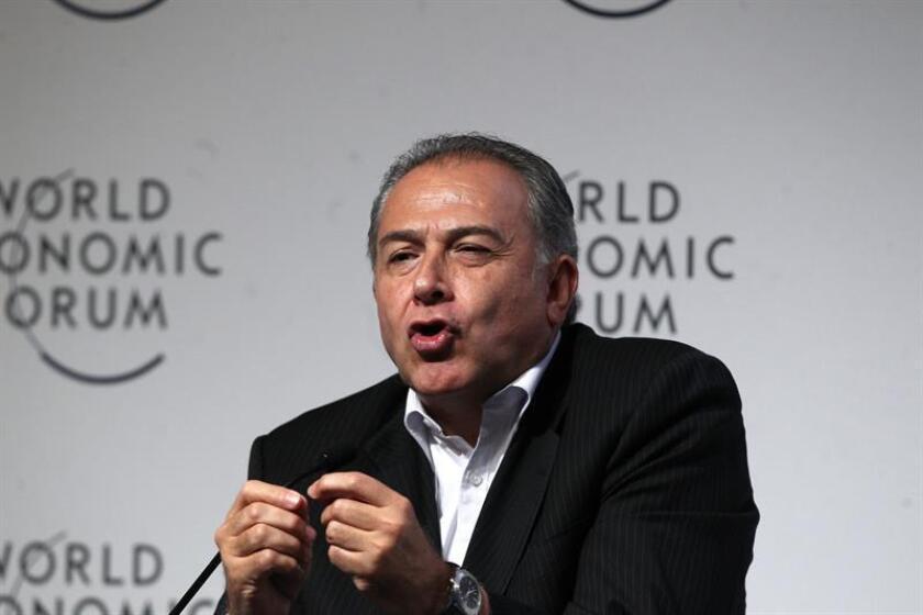 Imagen de archivo del exvicepresidente colombiano Óscar Naranjo Trujillo. EFE/Archivo