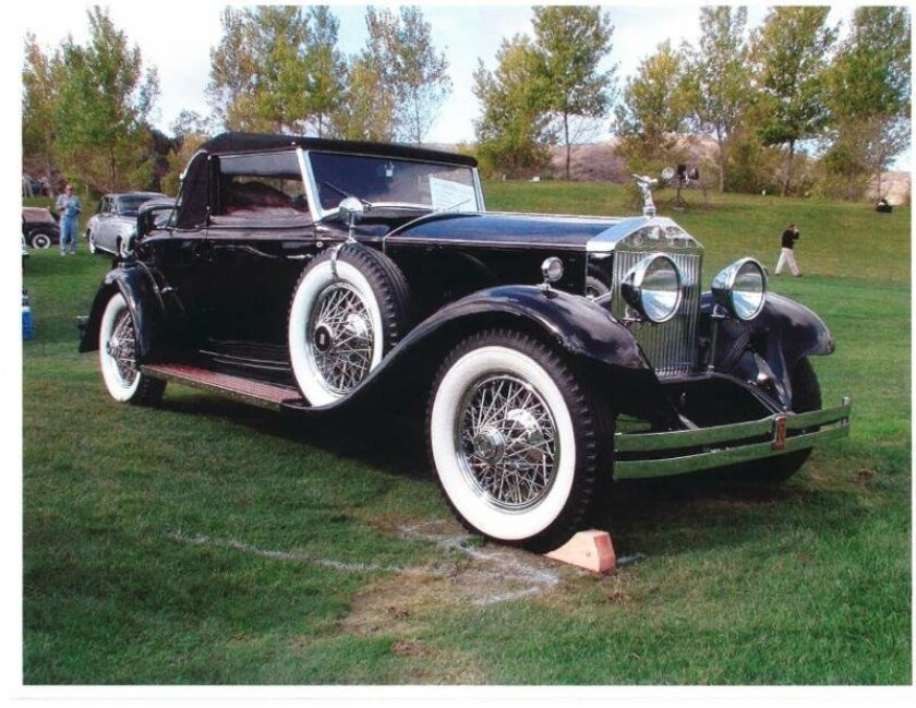 Recently registered for this year's La Jolla Concours d'Elegance show is this award-winning 1929 Rolls-Royce Springfield Phantom, 1 Drophead Coupe.