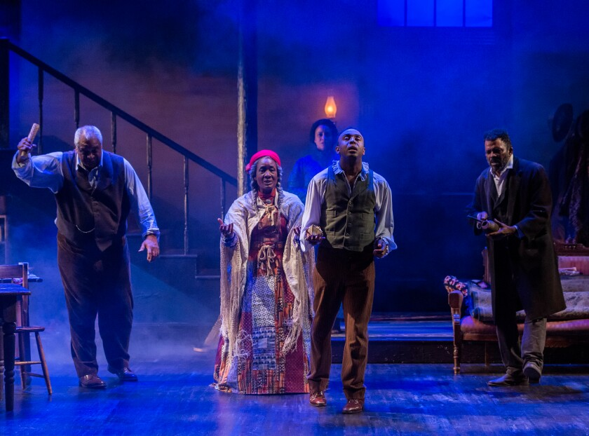 """The stellar cast in the revival of August Wilson's """"Gem of the Ocean"""" at A Noise Within in Pasadena."""