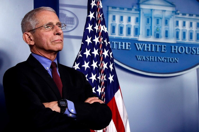 La crisis del sida preparó a Anthony Fauci, el médico experto en la  trinchera contra la pandemia de coronavirus - Los Angeles Times
