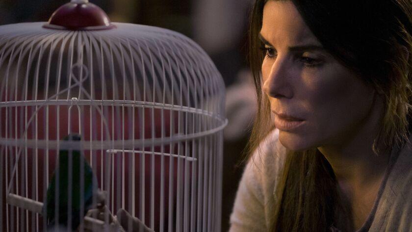 "Sandra Bullock in a scene from ""Bird Box."""