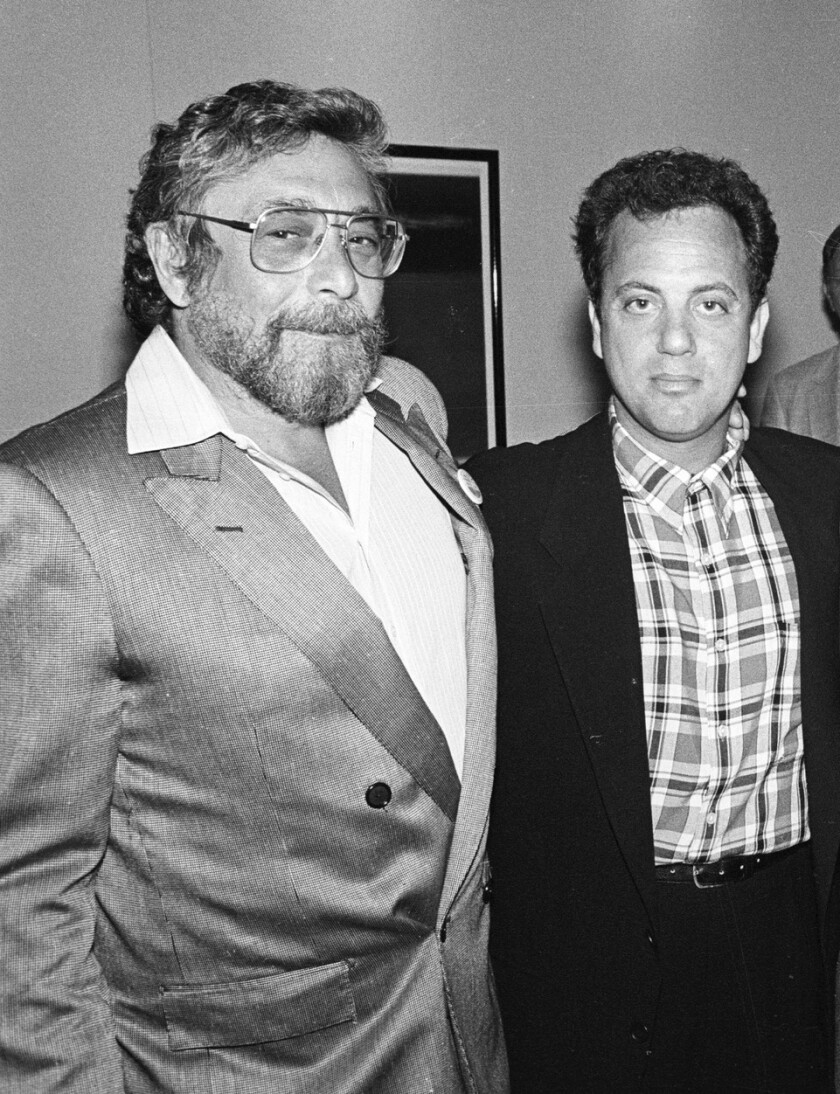 Walter Yetnikof and Billy Joel.