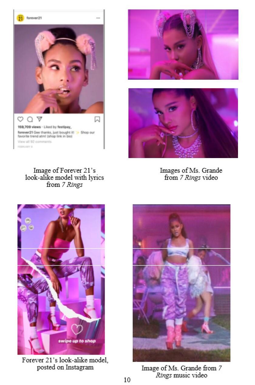 Ariana Grande sues Forever 21