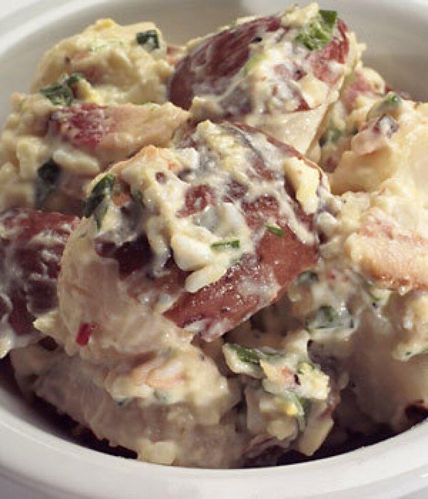 Potato salad at Gus's Barbecue