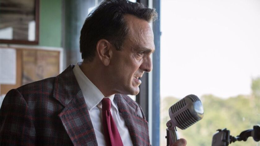 "Hank Azaria plays a down-and-out baseball broadcaster in ""Brockmire."""