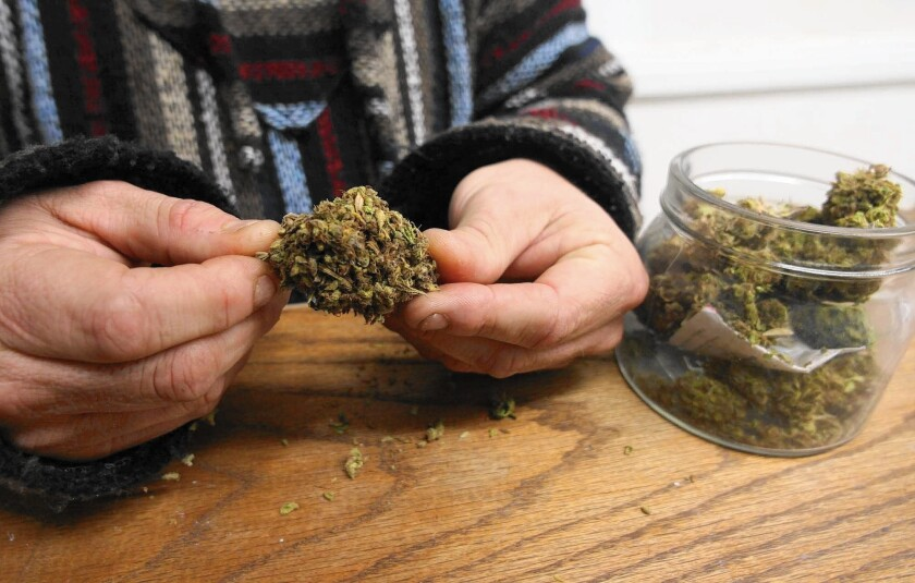 The Newport Beach City Council took a step in banning pot production and sale at Tuesday's meeting.