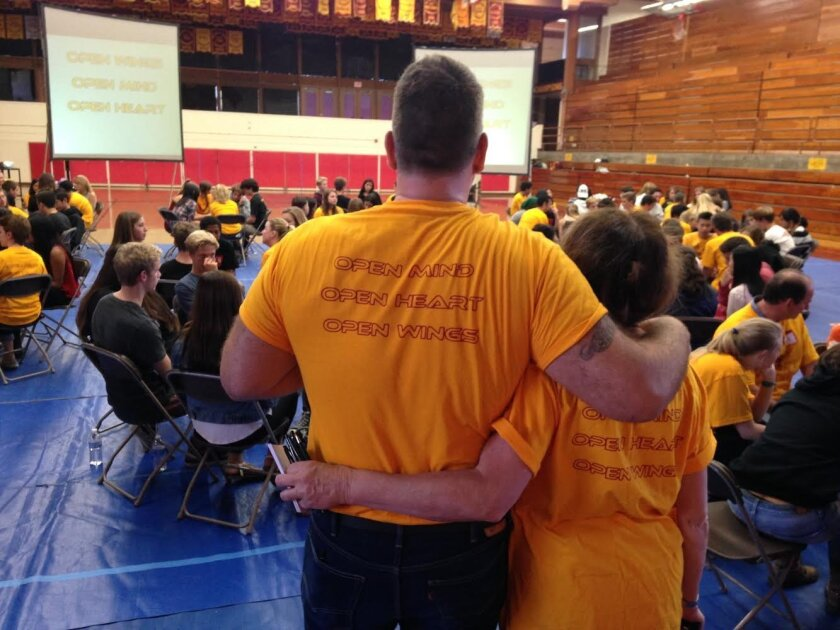 FalconFest, Torrey Pines High's in-house version of Challenge Days, was held last week.