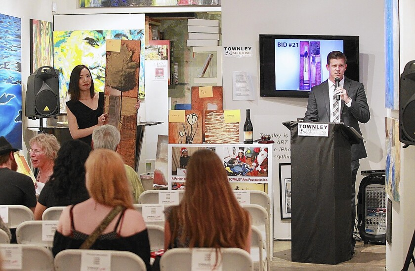 Townley Gallery introduces art auction - Los Angeles Times
