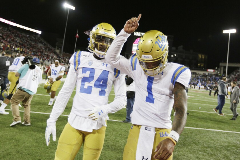 UCLA Washington St Football