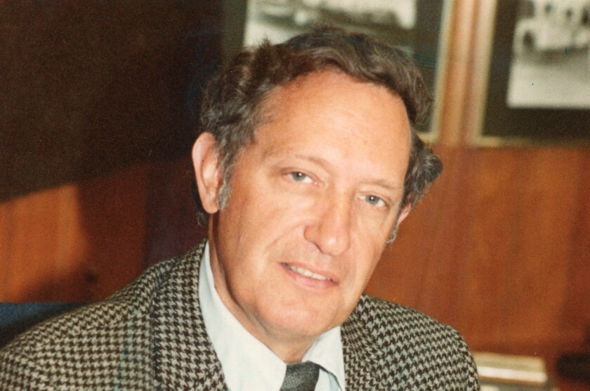 Dr. Thomas B. Day in 1985.