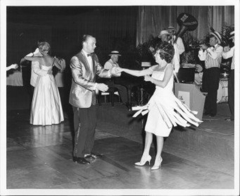 A scene from a Jewel Ball in the 1950s. Las Patronas' 2012 event will be the 66th annual Jewel Ball.  COURTESY