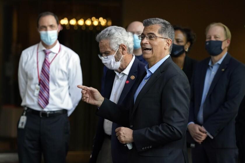 Xavier Becerra, secretario de Salud y Servicios Humanos