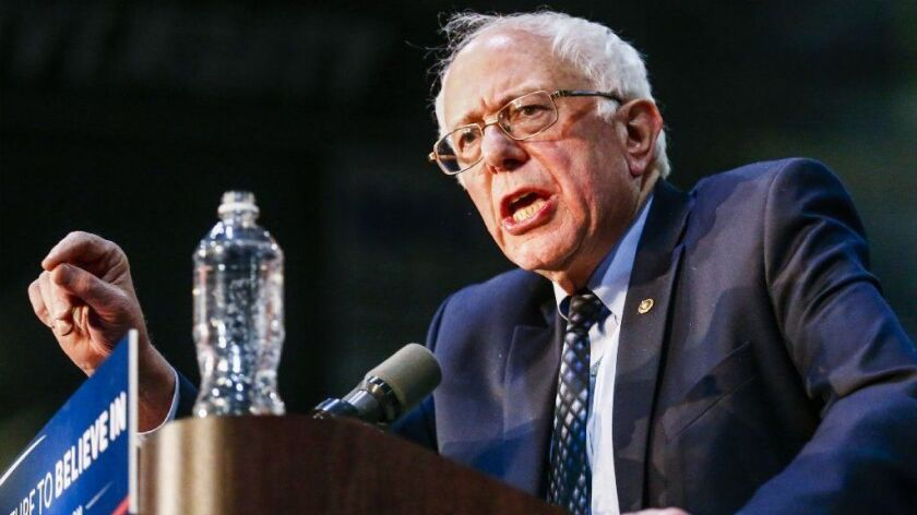Independent Senator Bernie Sanders announces 2020 presidential bid, Allendale, USA - 04 Mar 2016