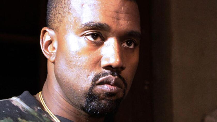 Foto de archivo de Kanye West