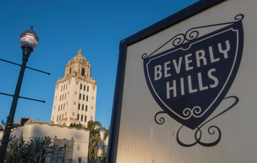 Beverly Hills police arrested 28 people during a peaceful protest Friday night.