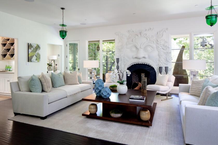 Geena Davis' Pacific Palisades home