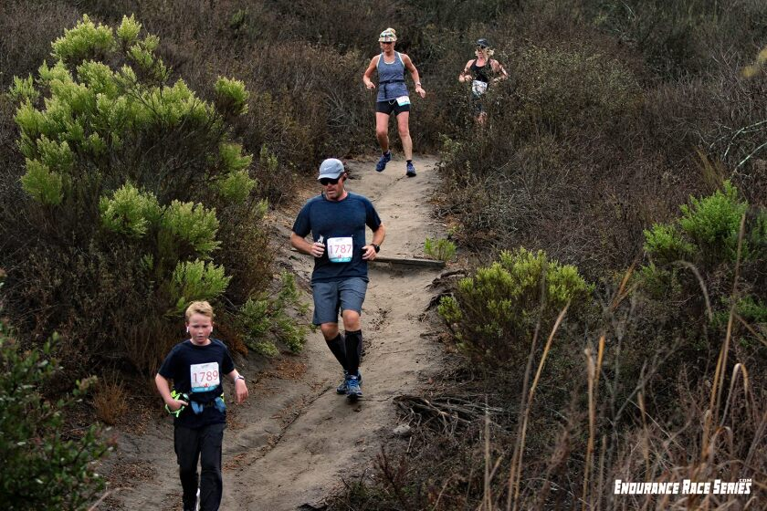 Runners take on Gonzales Canyon in the 2018 Carmel Valley Trail Race.