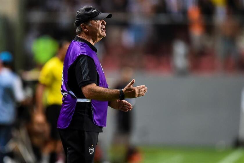 Levir Culpi, entrenador del equipo Atlético Mineiro. EFE/Archivo