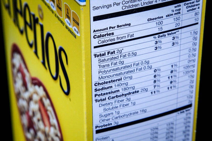 APphoto_FDA Nutrition Facts Label