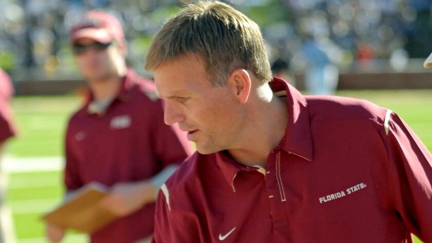 Trevor Moawad has worked with national powers Alabama and Florida State.