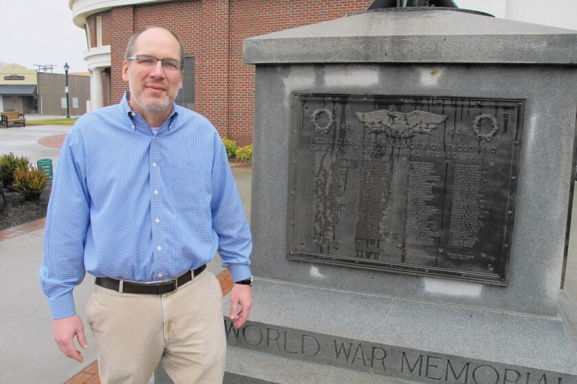 Greenwood, S.C., Mayor Welborn Adams and a local American Legion post ran into opposition when they tried to install replacement plaques that list the war dead alphabetically, with no mention of race.