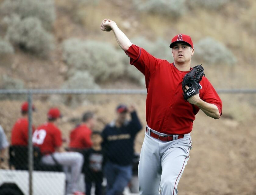 Angels report: Seventh-inning pitcher Mike Morin could be key to Angels' success