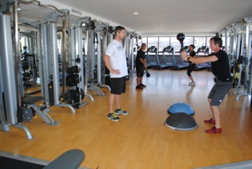 Members can have one-on-one fitness advice or participate in group sessions.