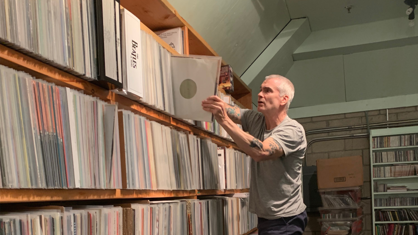 Henry Rollins at KCRW