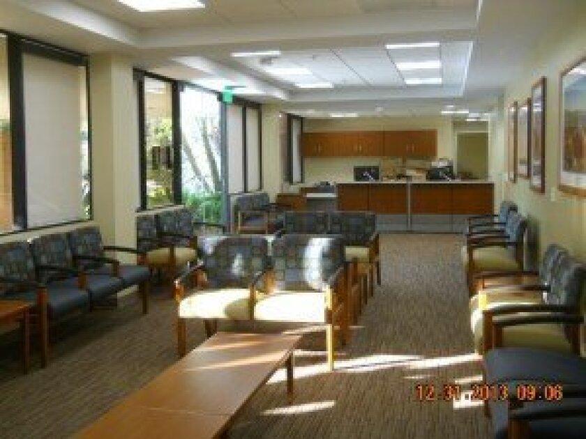 Interior of Scripps Coastal Medical Center, Del Mar