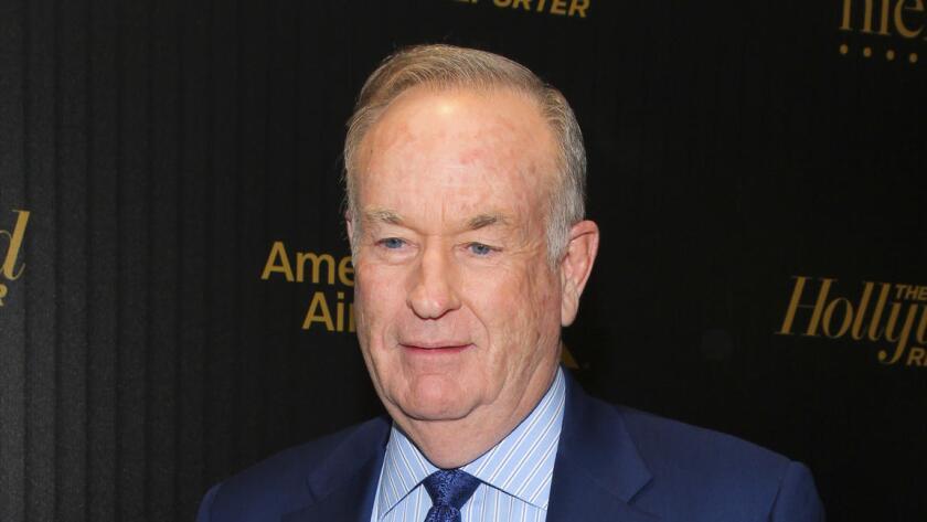 Bill O'Reilly en la celebración de 'Las 35 personas más poderosas en los medios', organizada por The Hollywood Reporter, en Nueva York (Andy Kropa/AP).