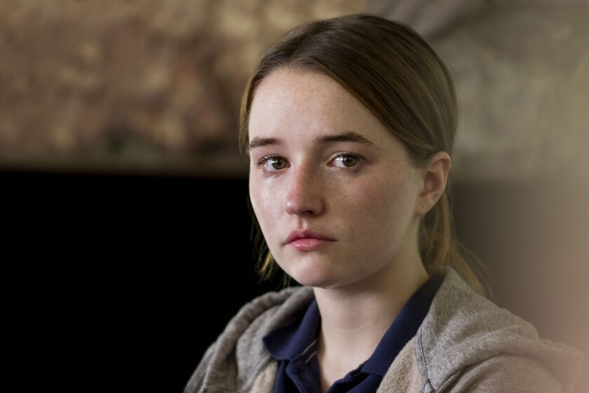 "Kaitlyn Dever plays a rape survivor in the Netflix limited series ""Unbelievable."""