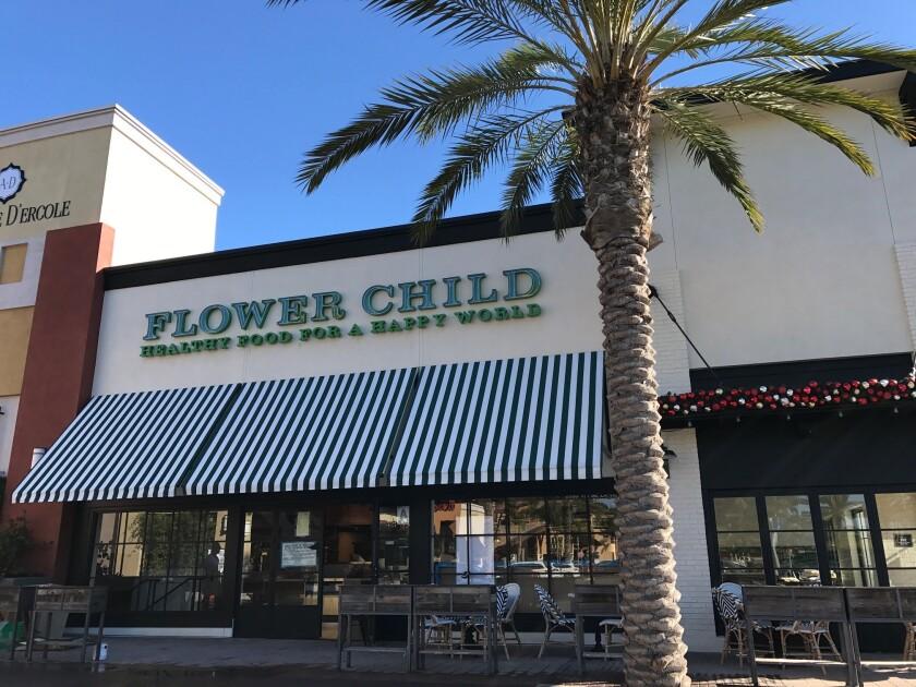 Flower Child will open soon in Flower Hill Promenade.