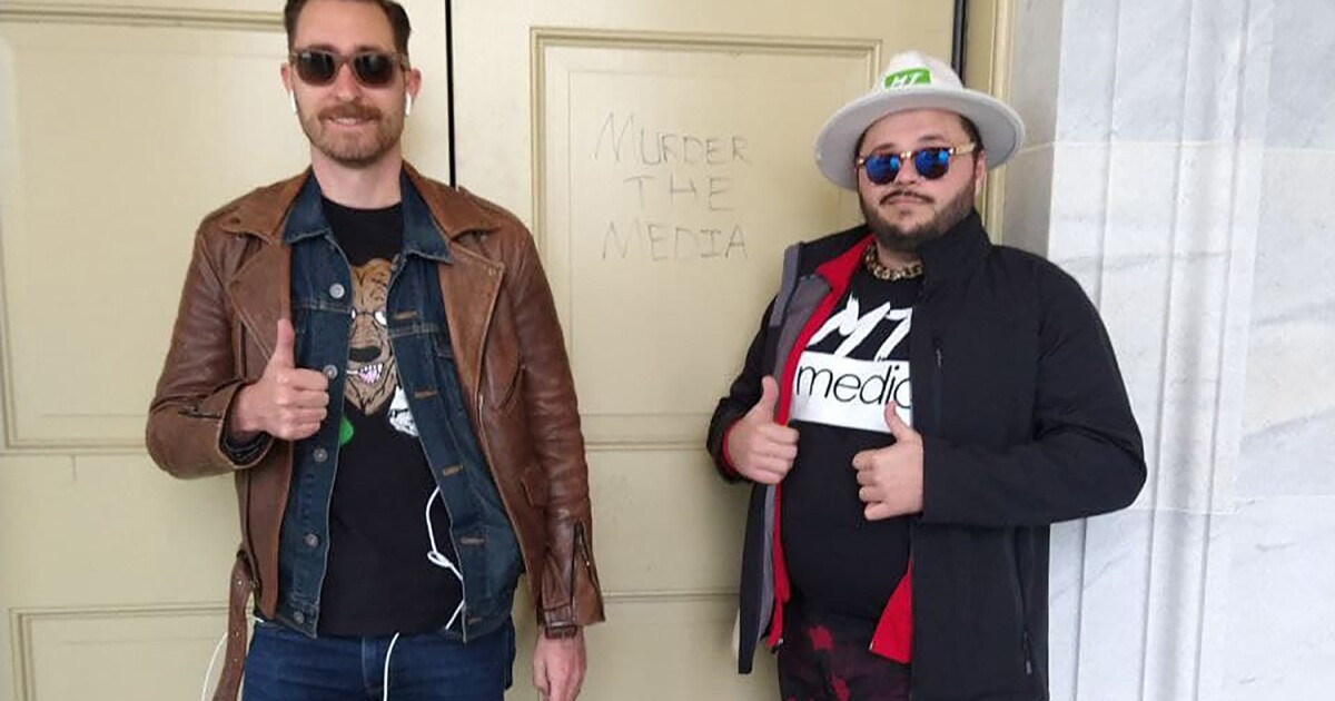 Some who stormed the Capitol, including a Proud Boys leader, claim they were citizen journalists