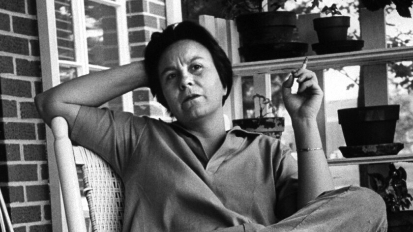 "Harper Lee, who wrote ""To Kill a Mockingbird,"" is shown in 1961. There are no plans for Lee to do publicity for her new book, essentially a sequel to ""To Kill a Mockingbird,"" titled ""Go Set a Watchman."""