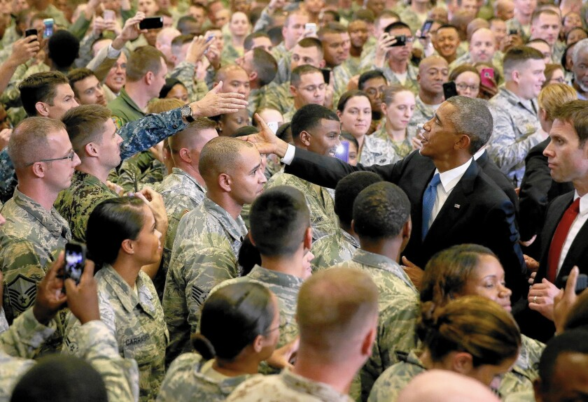 President Obama at Central Command