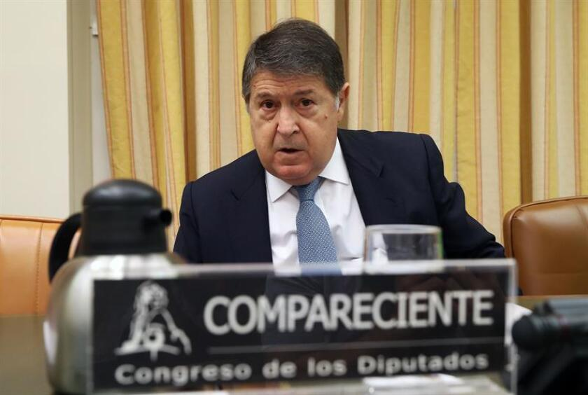 En la imagen, el expresidente de Bancaja José Luis Olivas. EFE/Archivo