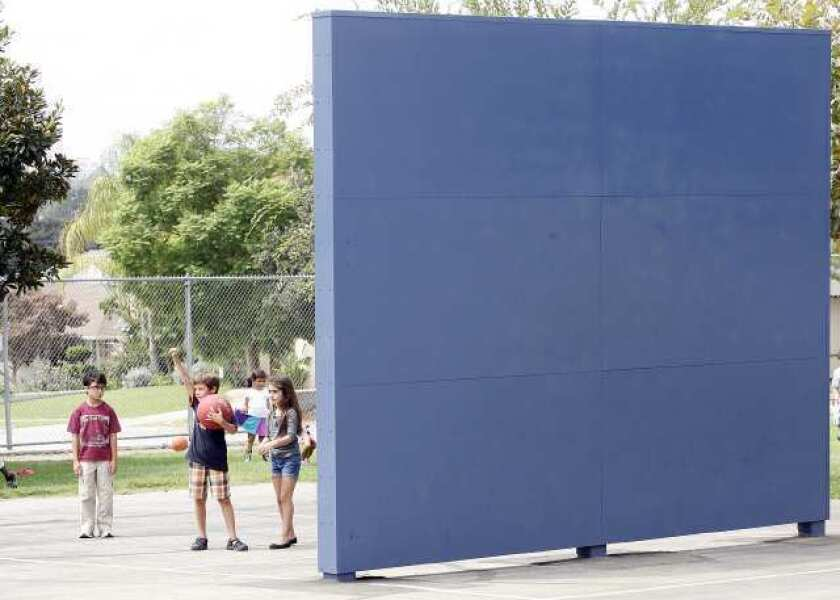 Ball walls fall in Burbank Unified's court