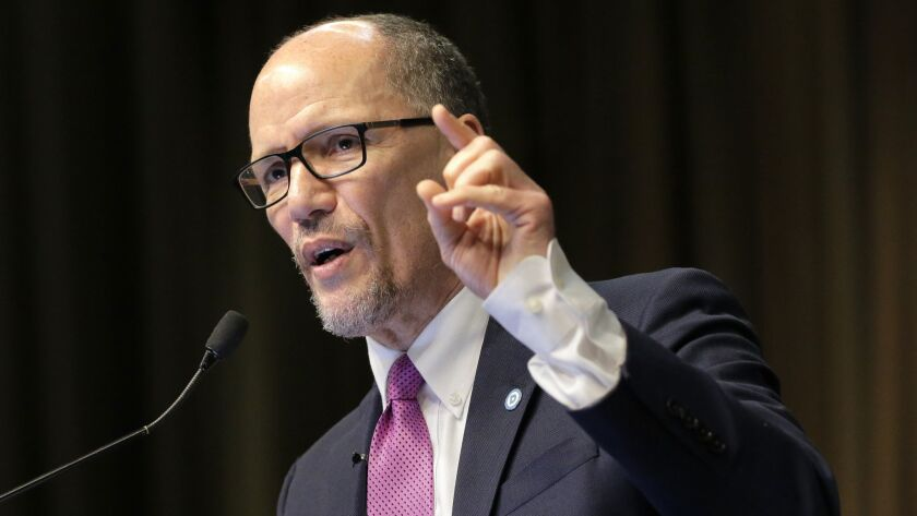 Tom Perez, chairman of the Democratic National Committee.